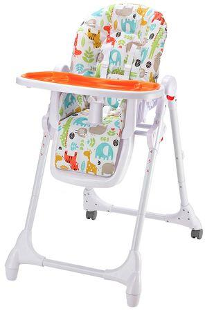 Petite&Mars krzesło do karmienia Zola, pomarańczowy