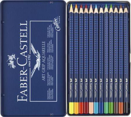 Faber Castell GRIP barvice Aqua 12/1 kov.