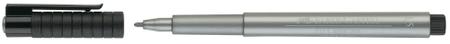 Faber Castell Pitt artist pen - srebrn