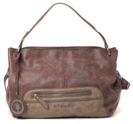 U.S. Polo Assn. ženska ročna torbica rjava UNI