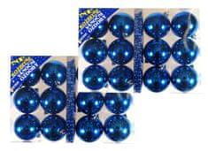 EverGreen set 2x12 kroglic, modre
