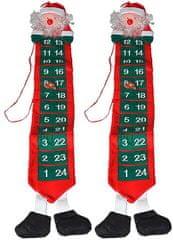 EverGreen Adventný kalendár Santa