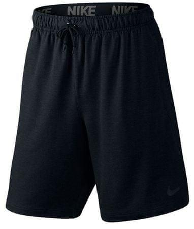 Nike kratke hlače Dry 8in Fleece, črne, velikost M