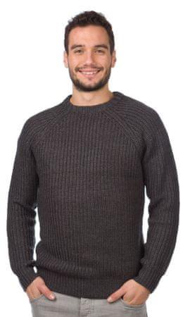 Brave Soul moški pulover Konstantii M temno siva