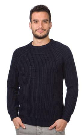 Brave Soul moški pulover Konstantii XL temno modra