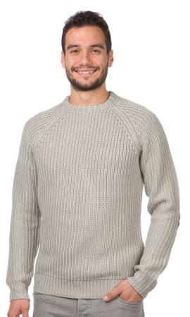 Brave Soul moški pulover Konstantii S siva