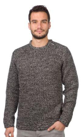 Brave Soul moški pulover Meteor L črna