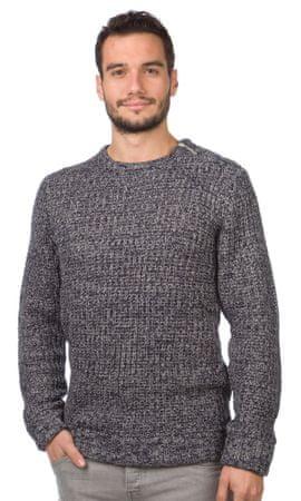 Brave Soul moški pulover Meteor XL temno modra