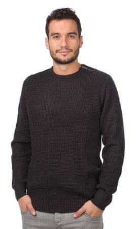 Brave Soul moški pulover Jedi S temno siva