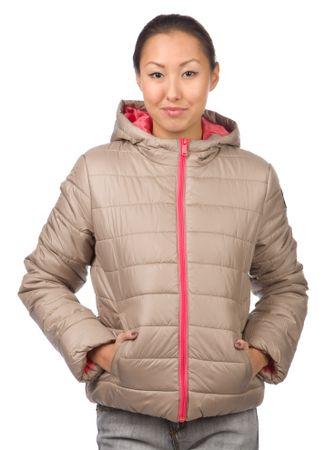 Brave Soul ženska jakna Maliapkb S rjava
