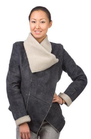 Brave Soul ženska jakna Liana XS temno siva