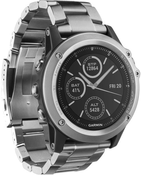 Garmin fénix 3 Silver Titanium Optic