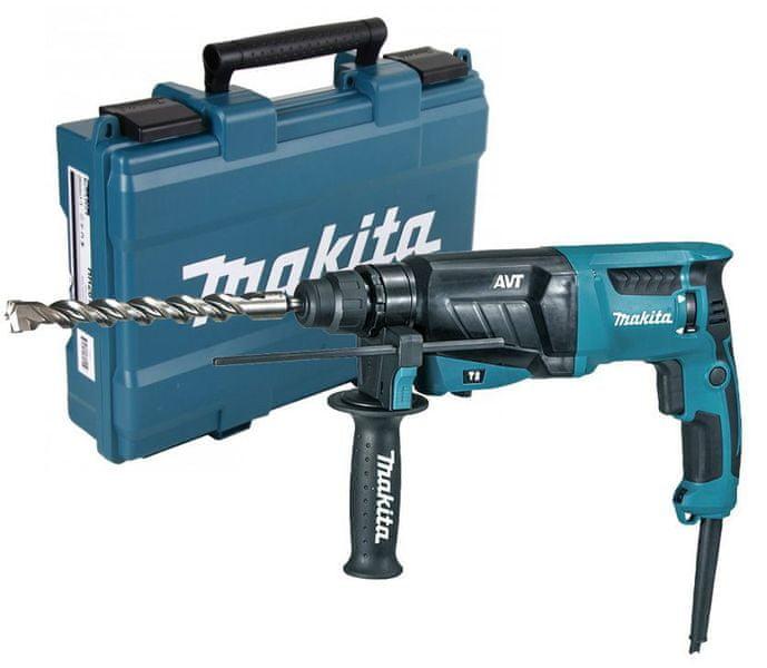 Makita HR2631F kombinované kladivo s AVT 2,4J,800W