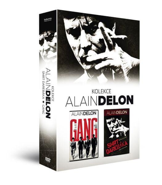 ALAIN DELON kolekce (2DVD): Gang + Smrt darebáka - DVD