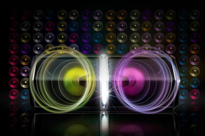 64 různých světelných kombinací