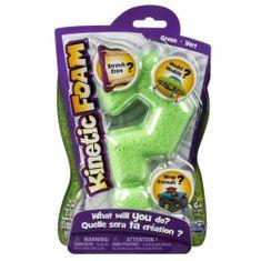 Spin Master Kinetic Foam, pojedyncze op. zielone