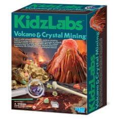 4M set Izkopavanje kristalov in vulkana