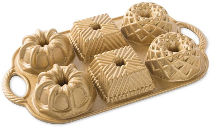 Nordic Ware bábovková forma Geo Gold