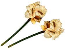EverGreen Amarylis kwiat beżowy 2 sztuki
