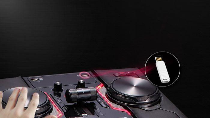 sdílení hudby přes Bluetooth