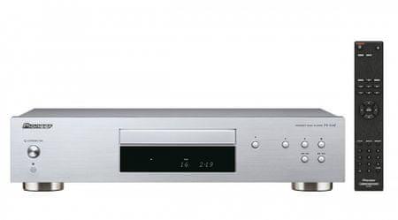 Pioneer odtwarzacz CD PD-10AE, srebrny