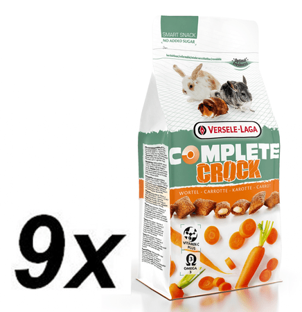 Versele Laga 9x Crock Complete Carrot - s mrkvou