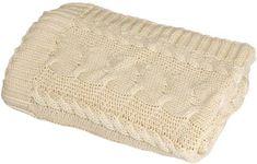 Rialto Baby pletená deka bavlna,copánky