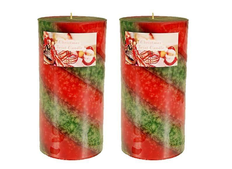 EverGreen Vánoční svíčka 15 cm