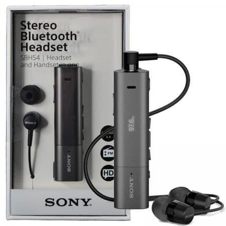 SONY SBH54 STEREO BLUETOOTH HEADSET d2dc9972f4