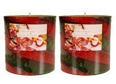 EverGreen Vianočná sviečka 10 cm