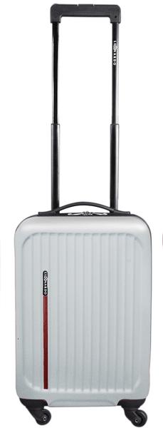 Leonardo Palubní kufr Trolley Premium bílý