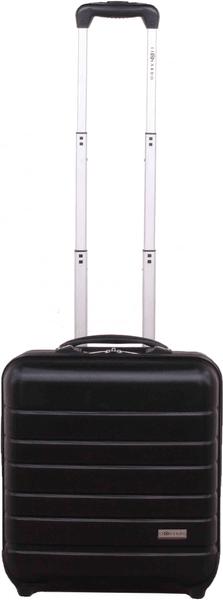 Leonardo Palubní kufr Trolley Laptop ABS černá