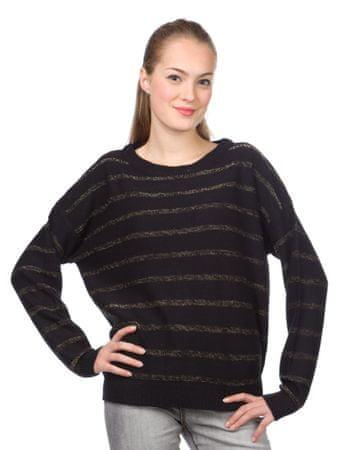 Brave Soul ženski pulover Glisten XS črna