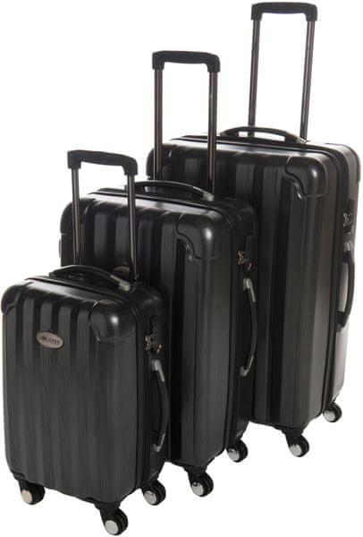 Leonardo Sada kufrů Poly černá