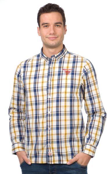 Brave Soul pánská košile Perry XL vícebarevná