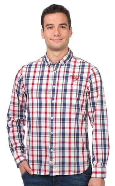 Brave Soul pánská košile Perry L vícebarevná