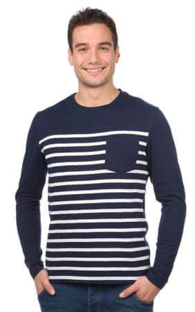 Brave Soul moška majica Fred XL temno modra