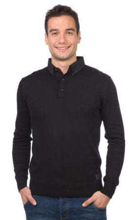 Brave Soul moški pulover Tardis S črna