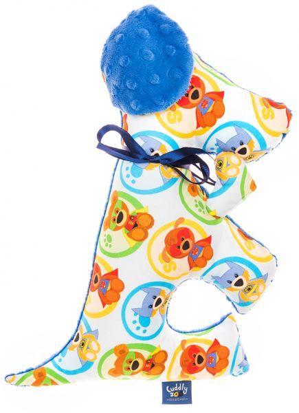 "CuddlyZOO Plyšový mazlíček ""Pes"" - superhero/modrá"