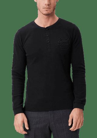 s.Oliver pánské bavlněné tričko XL černá