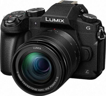 Panasonic Lumix DMC-G80 + 12-60 mm (DMC-G80MEG-K)
