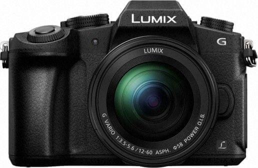 Panasonic Lumix DMC-G80 + 12-60 mm (DMC-G80MEG-K) - zánovní