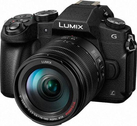 Panasonic Lumix DMC-G80 + 14-140 mm (DMC-G80HEG-K)