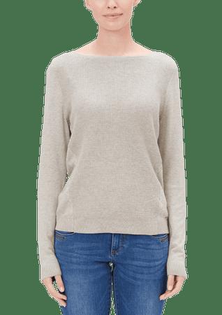 s.Oliver dámský svetr 34 béžová
