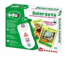 Toys4All Elektroniczny czytnik kart edukacyjnych Zwierzęta