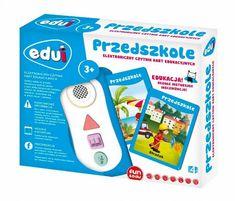 Toys4All Edui Elektroniczny czytnik kart edukacyjnych Przedszkole