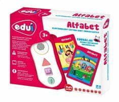 Toys4All Edui Elektroniczny czytnik kart edukacyjnych Alfabet
