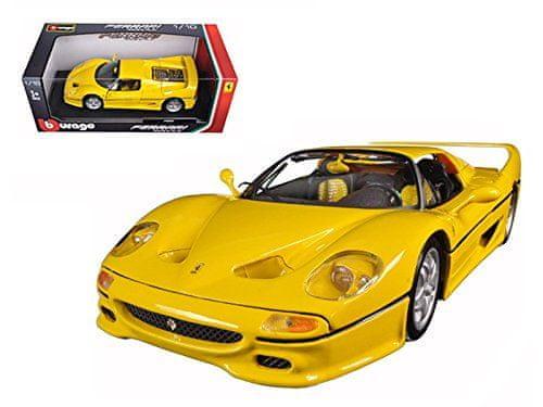 BBurago Ferrari F50 (1:18) žluté
