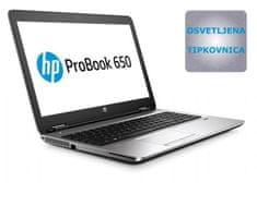 HP prenosnik ProBook 650 G2 i5/8/SSD/FHD/Dos (L8U47AV)