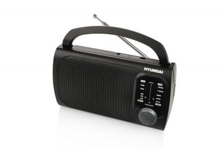 HYUNDAI radio PR 120, czarny